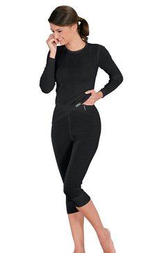 comazo shirt met lange mouwen zwart