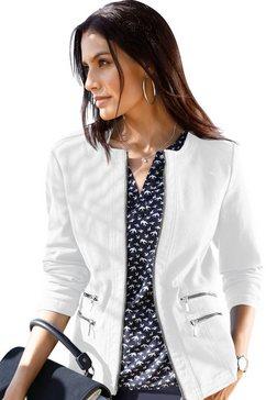classic inspirationen blazer in jeans-look beige