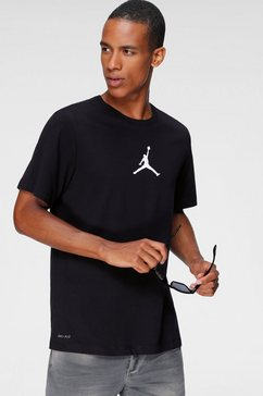 jordan t-shirt »men's short-sleeve crew« zwart