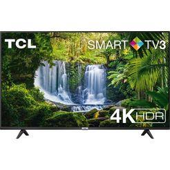 "tcl led-tv 50p611x1, 126 cm - 50 "", 4k ultra hd, smart-tv zwart"