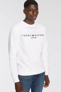 tommy hilfiger sweatshirt tommy logo sweatshirt wit
