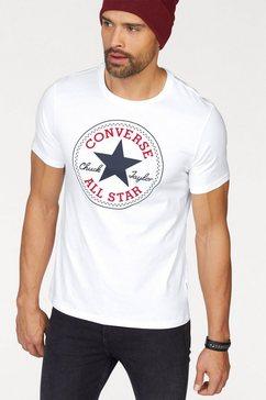 converse t-shirt nova chuck patch tee wit