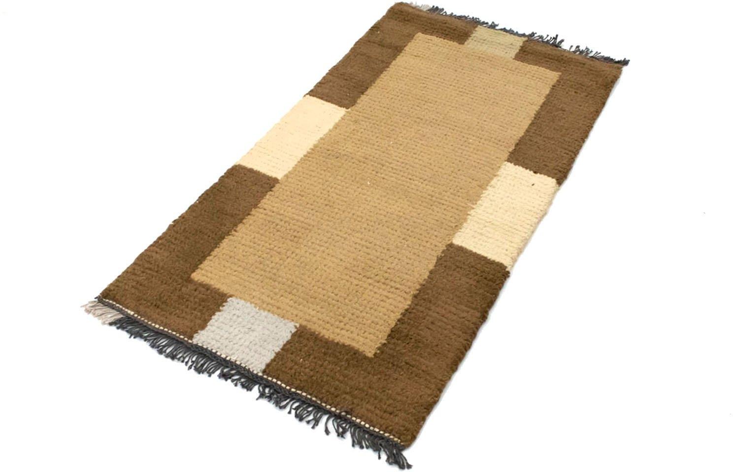 morgenland wollen kleed Nepal Teppich handgeknüpft mehrfarbig handgeknoopt voordelig en veilig online kopen