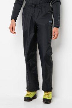 jack wolfskin regenbroek »rainy day pants« zwart