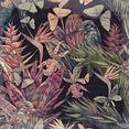 queence artprint op hout tannon (1 stuk) multicolor