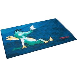 tabaluga vloerkleed voor de kinderkamer »drache tabaluga dunkelblau« blauw