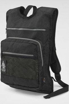 vans rugzak low pro backpack zwart