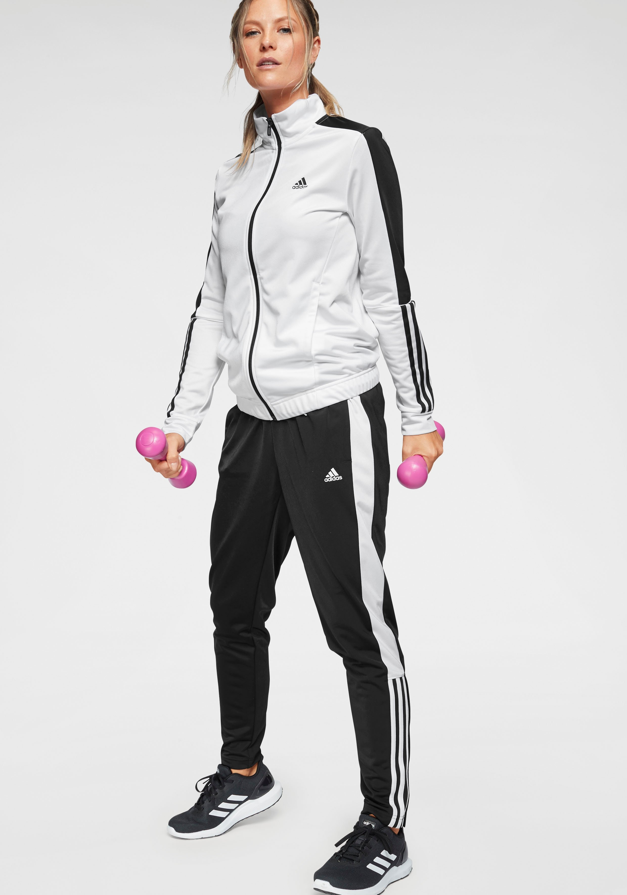 adidas Performance trainingspak »OSR W PES 3 STRIPES TRACKSUIT« nu online bestellen
