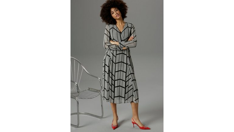 Aniston SELECTED Midi-jurk