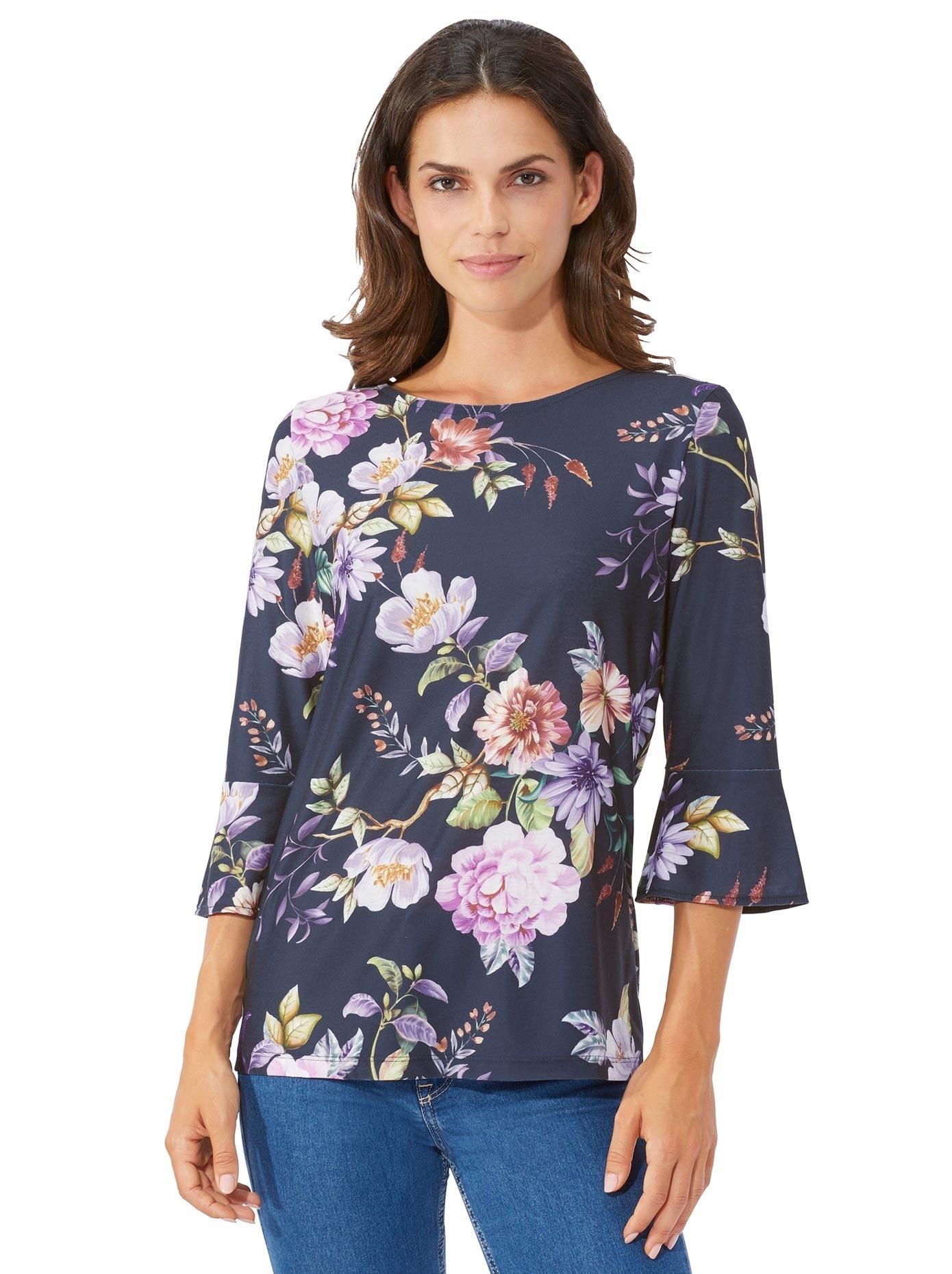 Lady shirt met 3/4-mouwen bestellen: 30 dagen bedenktijd