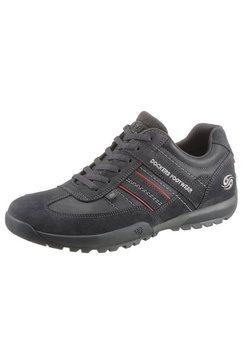 dockers by gerli sneakers met sierstiksel grijs