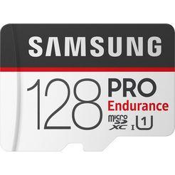 samsung geheugenkaart »pro endurance microsd 128 gb« zwart
