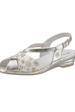 suave sandaaltjes zilver