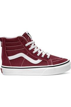 vans sneakers sk8-hi zip rood