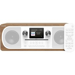pure digitale radio (dab+) evoke c-f6 bruin