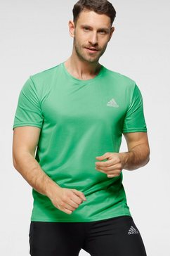 adidas performance runningshirt adidas fast primeblue tee men groen