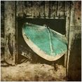 art  pleasure artprint op acrylglas »surf break« grijs