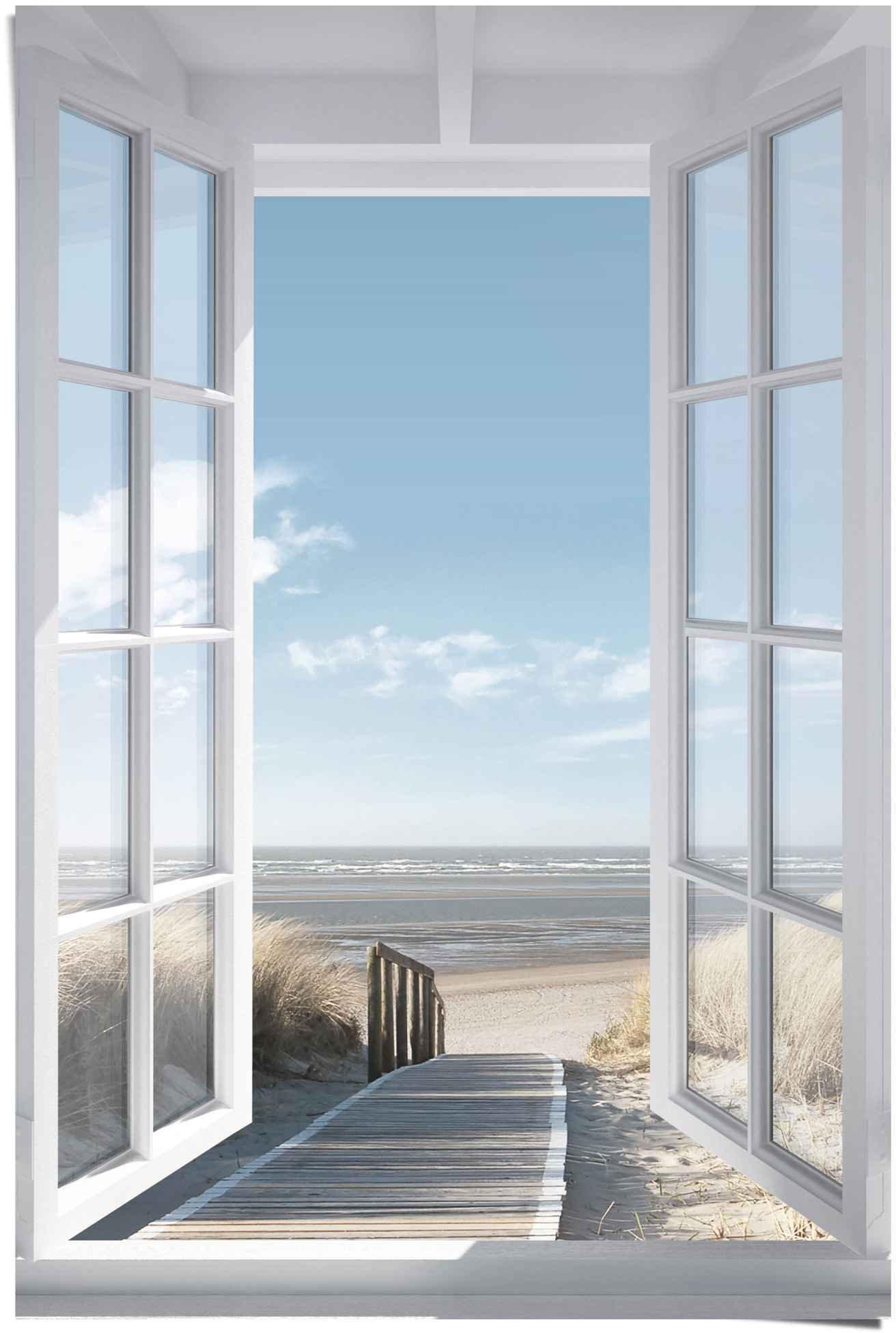 Op zoek naar een Reinders! poster blik uit het venster Noordzee (1 stuk)? Koop online bij OTTO