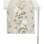 apelt tafelloper 3621 christmas elegance digitaal printen (1 stuk) wit