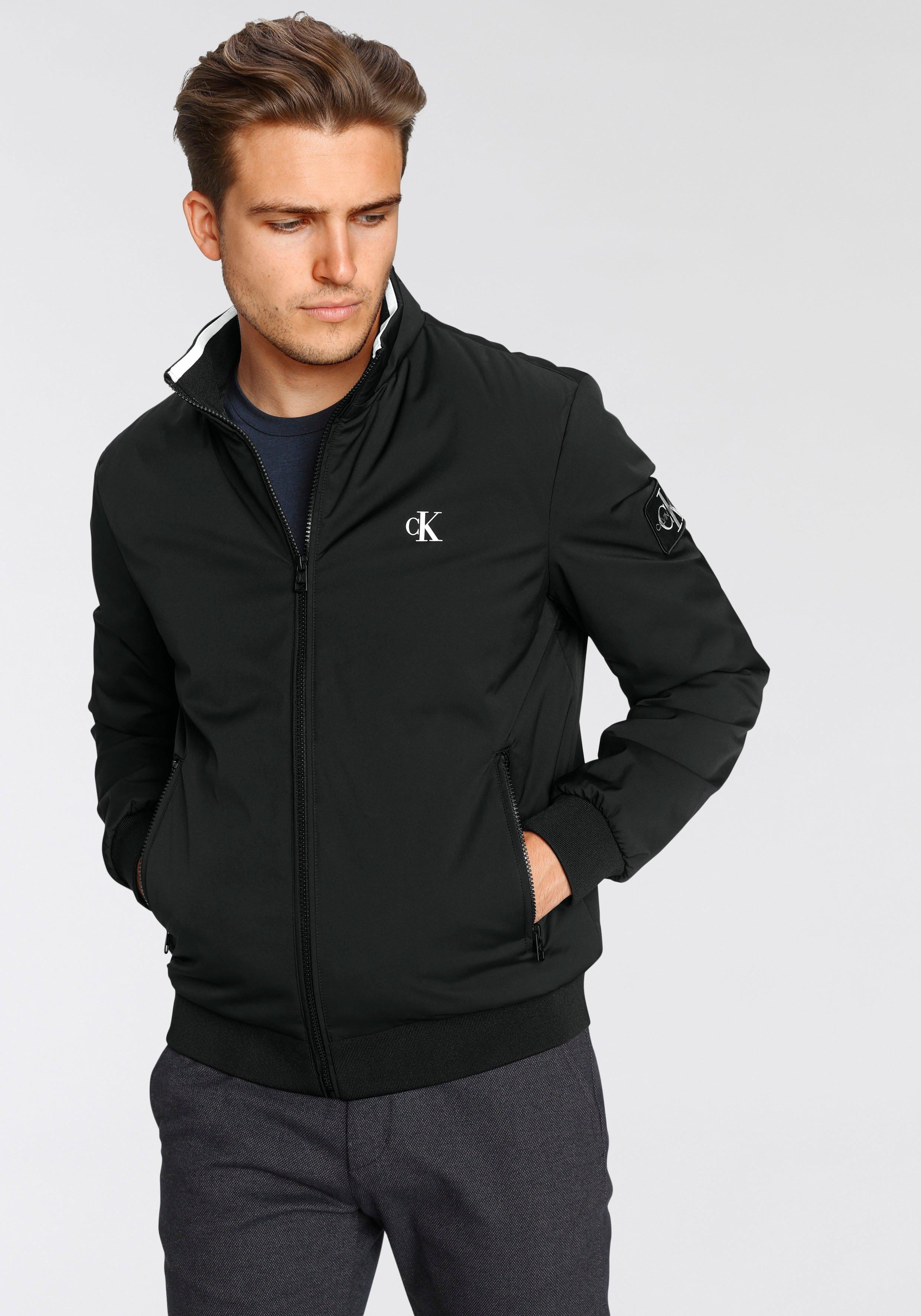Calvin Klein Blouson NYLON HARRINGTON JACKET nu online kopen bij OTTO