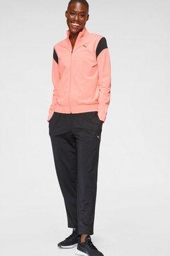 puma trainingspak »classic tricot suit« roze