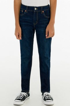 levi's kidswear stretch jeans lvb 512 slim taper jean blauw