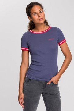 kangaroos t-shirt met modieuze ribboordjes blauw