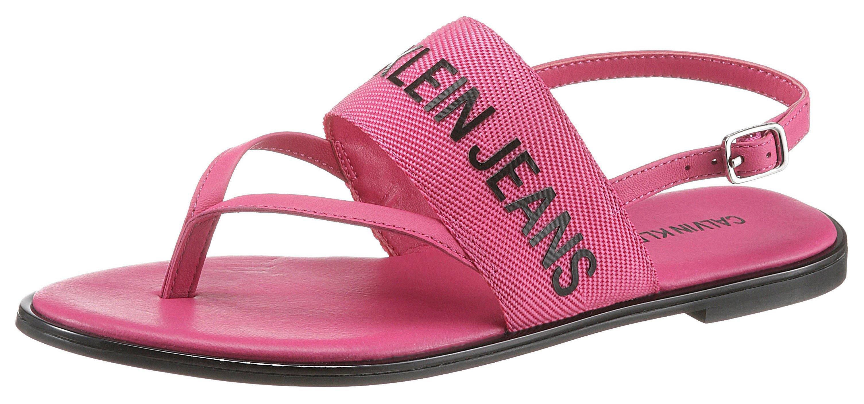 Calvin Klein sandalen met zacht teenbandje online kopen op otto.nl