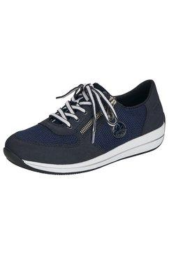 rieker sneakers met sleehak blauw