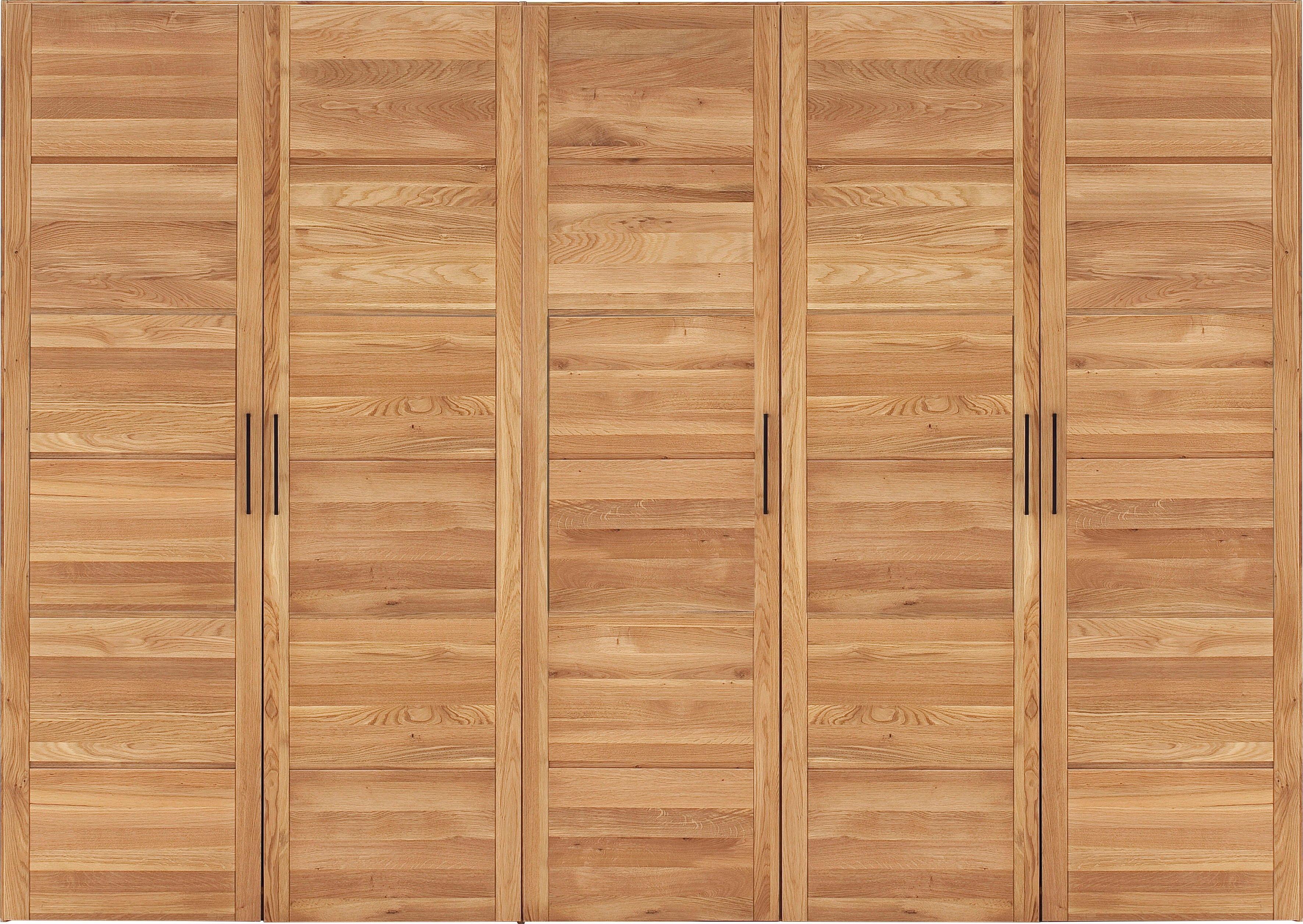Premium collection by Home affaire draaideurkast Chamara van massief eikenhout, in verschillende kastbreedten te bestellen, hoogte 218 cm nu online bestellen