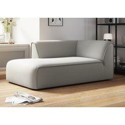couch ♥ ottomane vette bekleding modulair, vele modules voor individuele samenstelling van couch favorieten beige