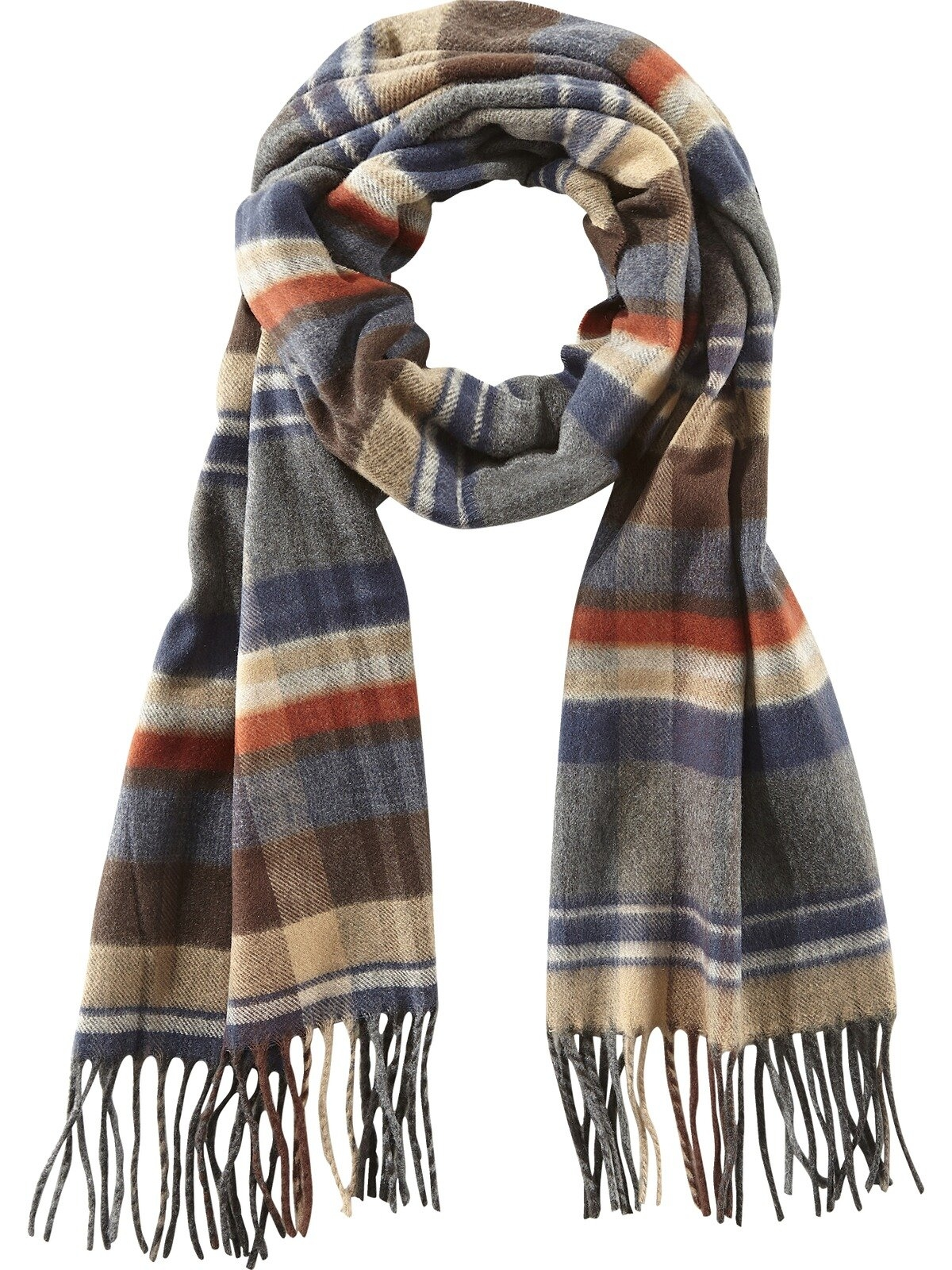 Charles Colby fleece-sjaal LORD SHAWN met geruit patroon in de webshop van OTTO kopen
