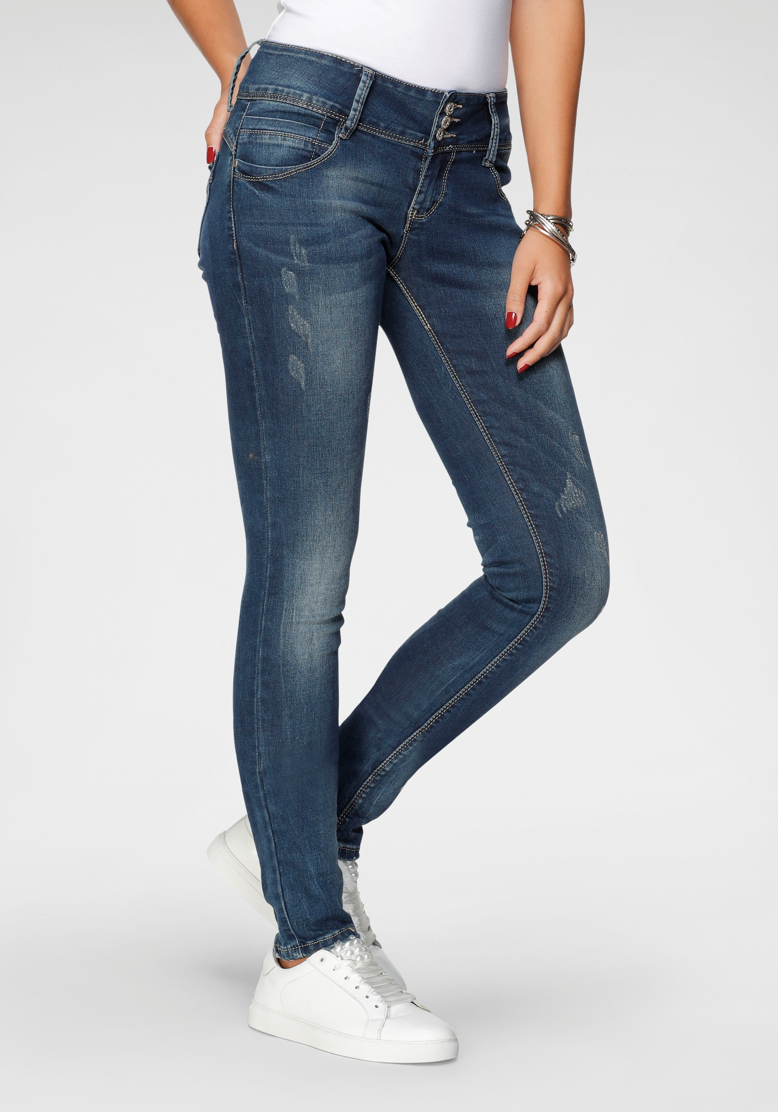 HaILYS skinny fit jeans CAMILA - gratis ruilen op otto.nl