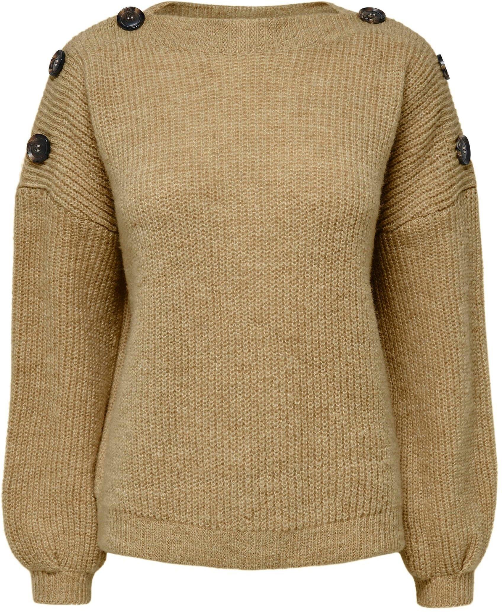 Op zoek naar een Only Gebreide trui ONLJADE L/S BUTTON met decoratieve knopen? Koop online bij OTTO