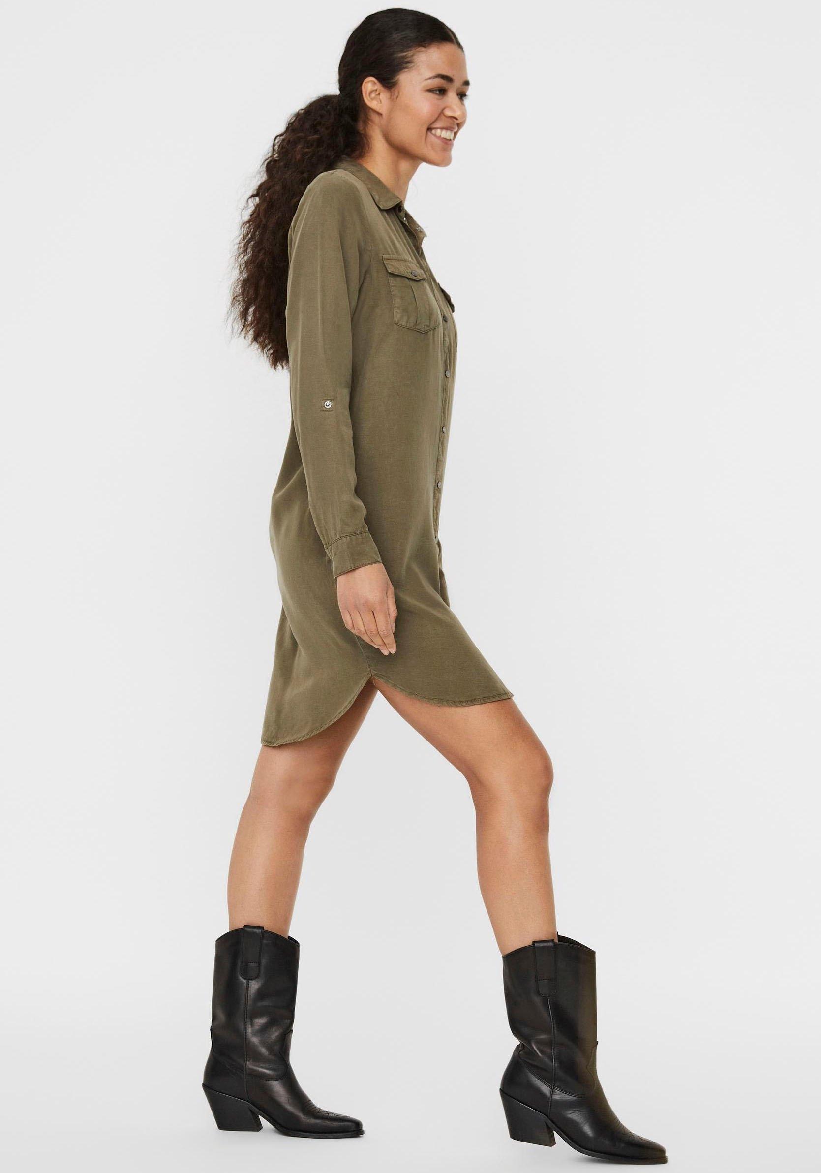 Op zoek naar een Vero Moda jeansjurk »SILLA«? Koop online bij OTTO