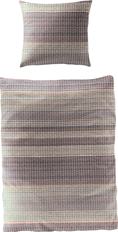 BIERBAUM overtrekset Small Pattern met een stijlvolle print (2-delig) voordelig en veilig online kopen