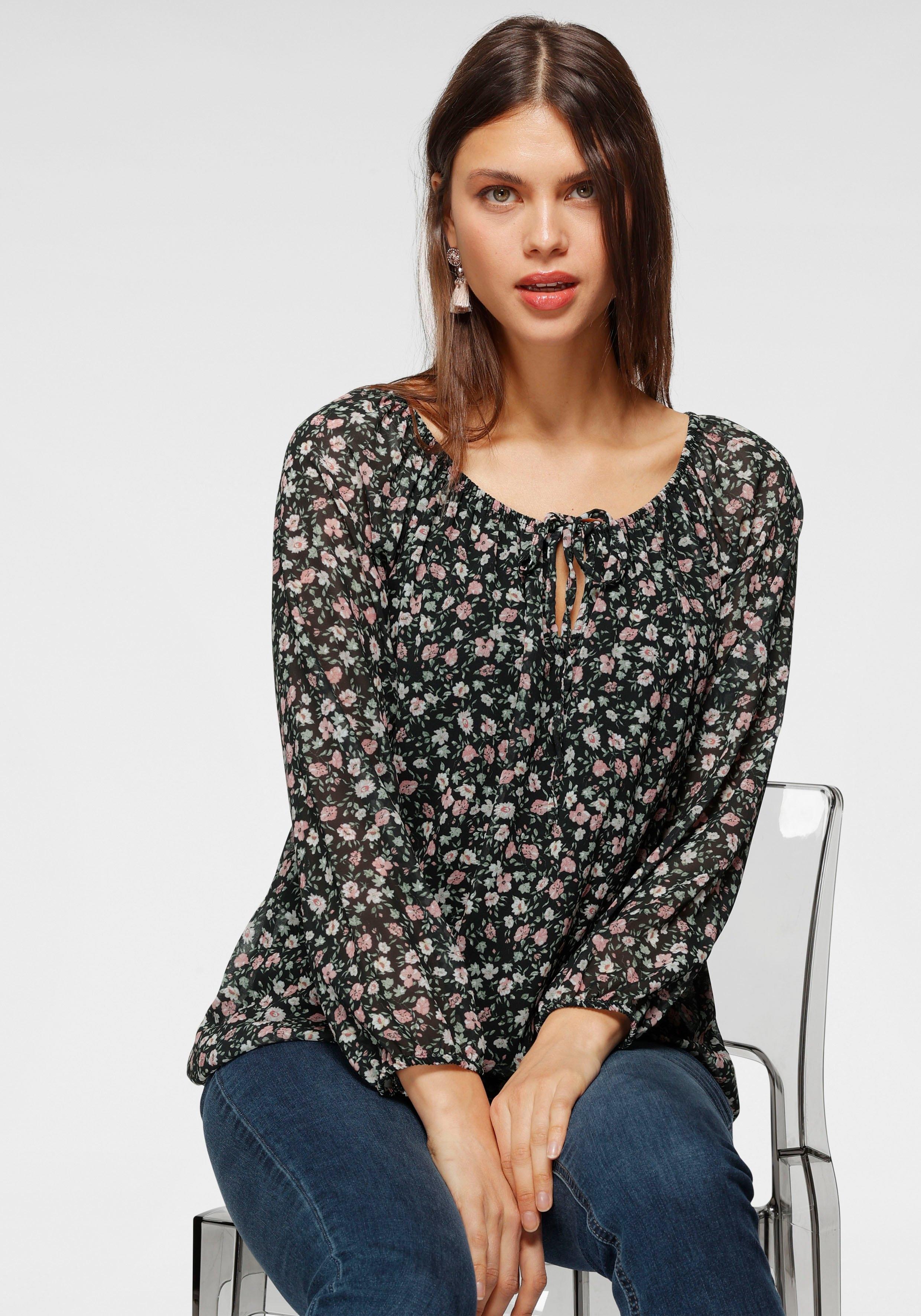 HaILYS blouse met carmenhals - verschillende betaalmethodes
