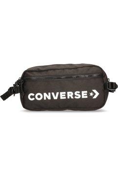 converse heuptasje fast pack cross body, black zwart