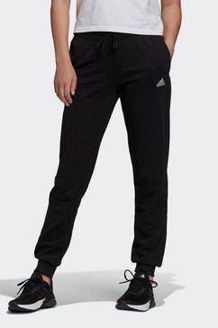 adidas performance joggingbroek »essentials french terry logo« zwart