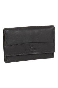 mustang portemonnee udine met rfid-bescherming zwart