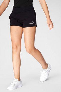 puma short ess+ shorts g zwart