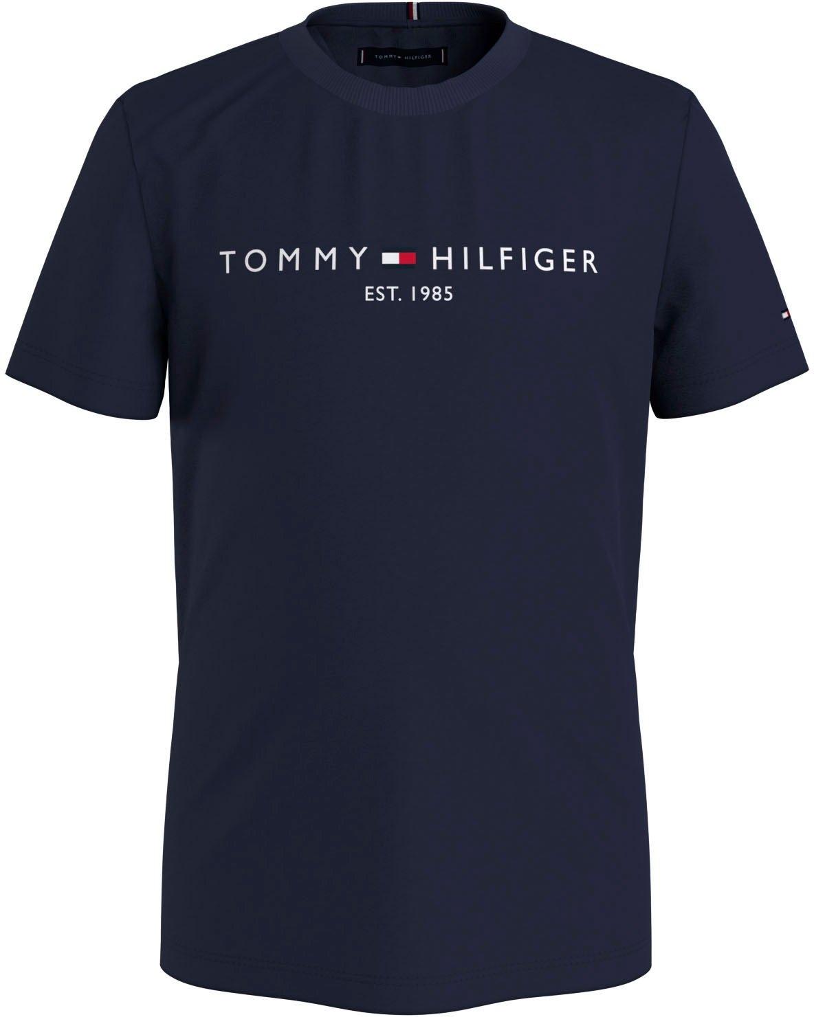 Op zoek naar een Tommy Hilfiger T-shirt »ESSENTIAL LOGO TEE S/S«? Koop online bij OTTO