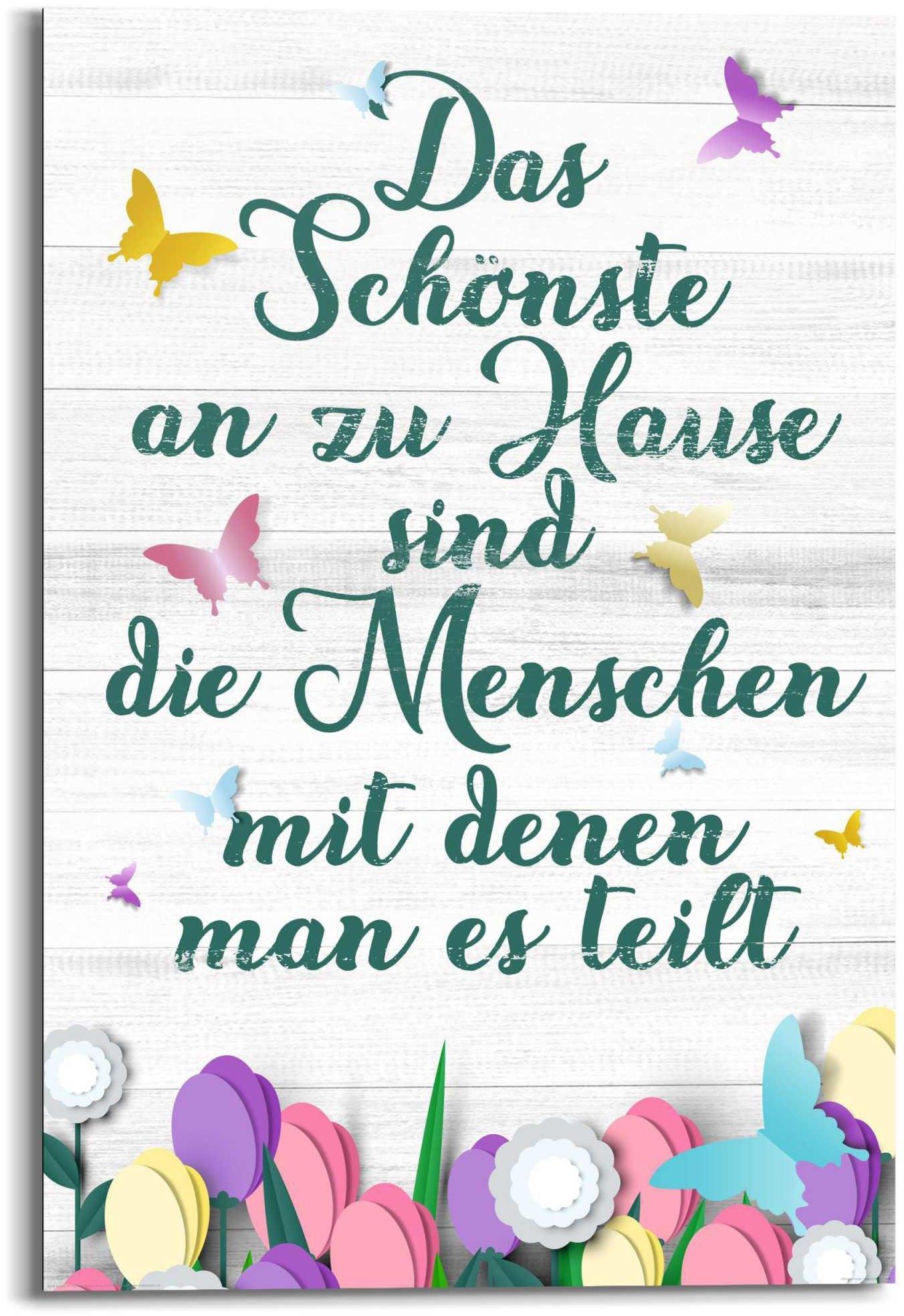 Reinders! artprint Wandbild Zu Hause Familien - Lebensfreude - Weisheit (1 stuk) in de webshop van OTTO kopen