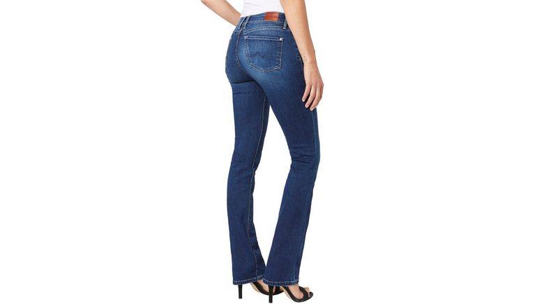 Pepe Jeans bootcut jeans PICCADILLY in 5-pocketsstijl en achterzakken met stiksel