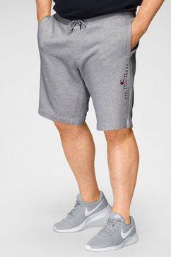 tommy hilfiger sweatshort bt-essential tommy sweatshort-b grijs