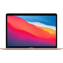 apple macbook air 13 m1-8c-8gb-256gb gold qwerty
