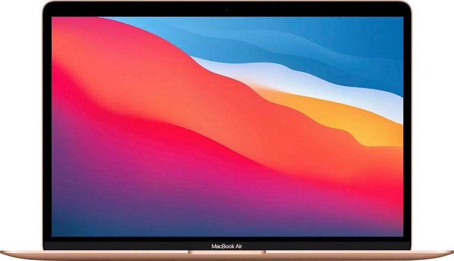 Apple MacBook Air 13 M1-8c/8GB/256GB Gold Qwerty bestellen: 30 dagen bedenktijd