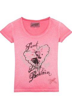 andreas gabalier kollektion folkloreshirt dames met glinstersteentjes roze