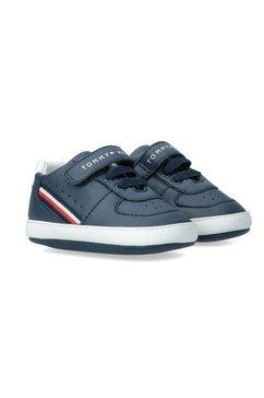 tommy hilfiger sneakers met elastiek wit