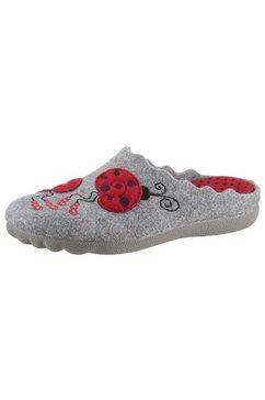 maybe pantoffels met leuk lieveheersbeestjesmotief grijs
